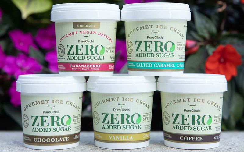 Stevia-Sweetened Ice Creams