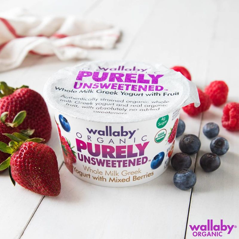 Sugar-Free Yogurt Branding