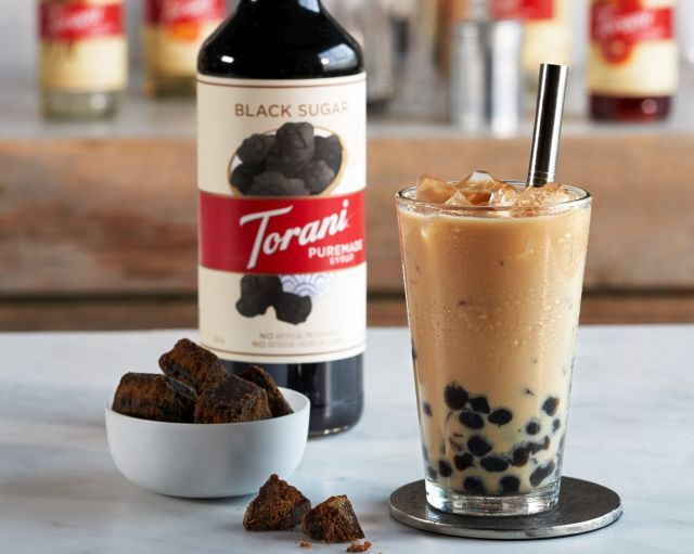 Flavorful Boba Drink Syrups