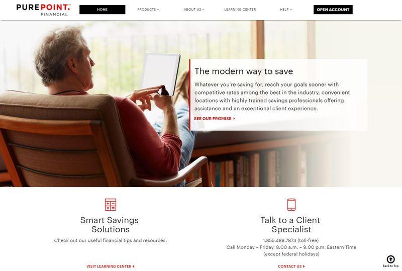 Online Savings Account >> Powerful Online Savings Accounts Purepoint Financial