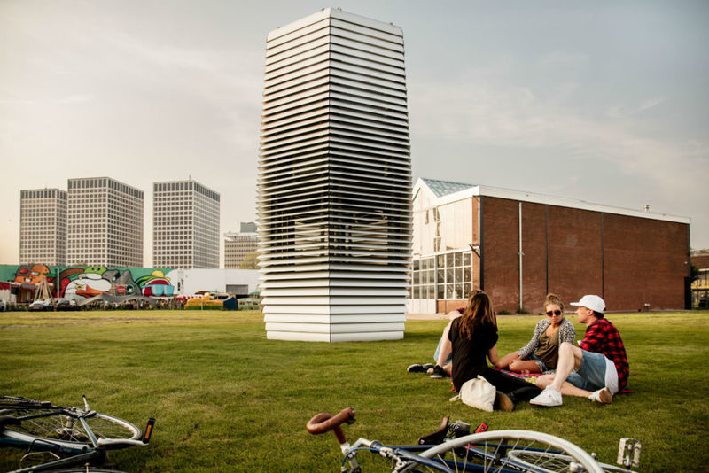 Purifying Air Towers