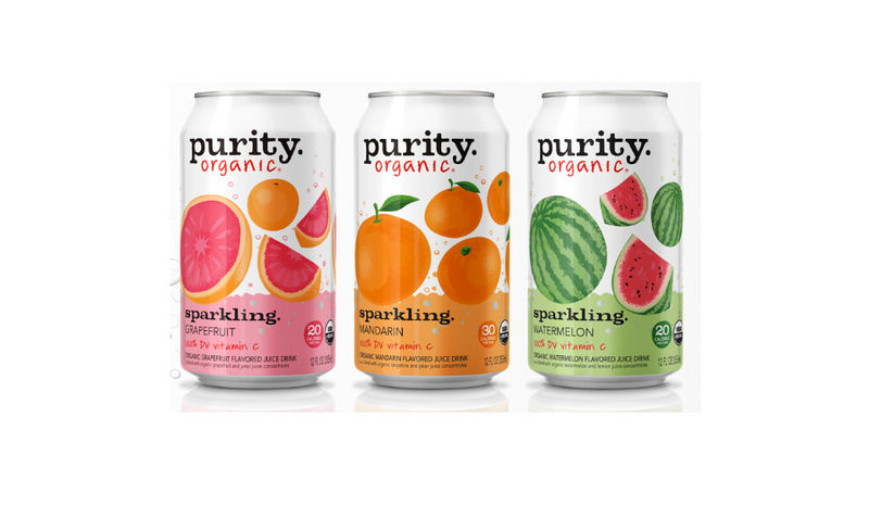 Vitamin-Enriched Sparkling Waters