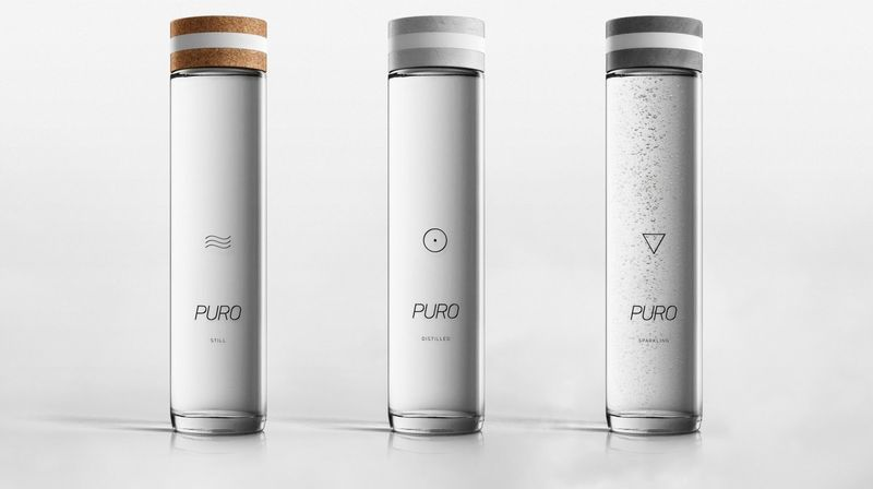 Landscape-Inspired Water Bottles