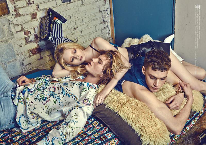 Lounging Rocker Editorials
