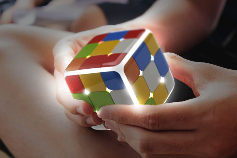 Connected Puzzle Desk Toys