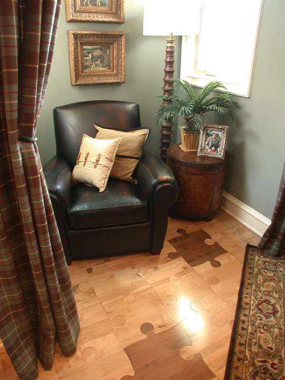 Puzzle Flooring Thought Provoking Jigsaw Piece Hardwood Floor Covering