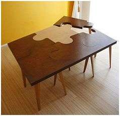 Puzzle Inspired Tables