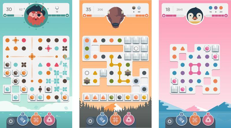 Meditative Puzzle Platforms
