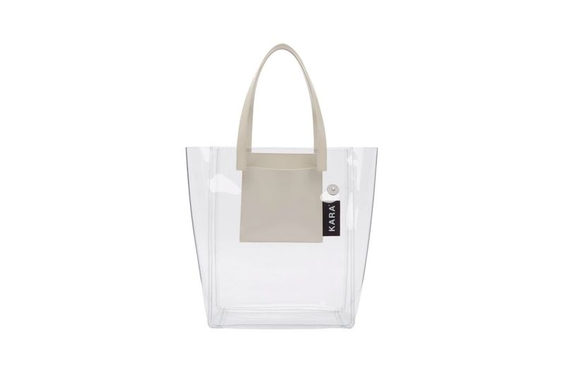 High-Fashion Transparent Totes