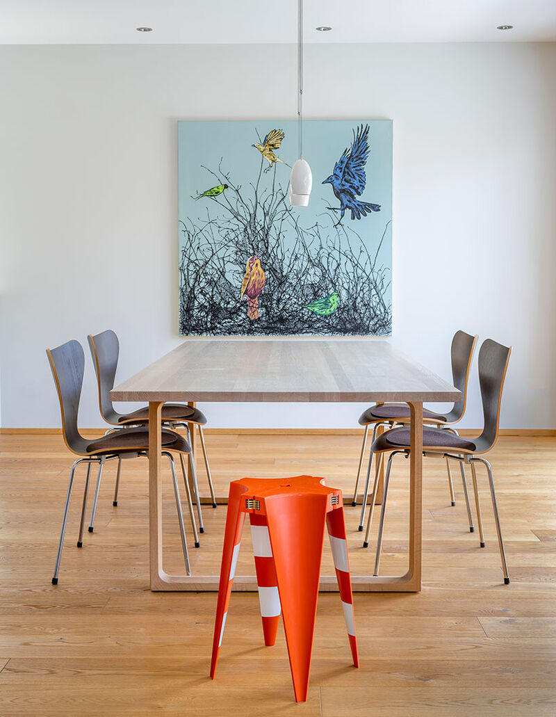 Stackable Traffic Cone Chairs