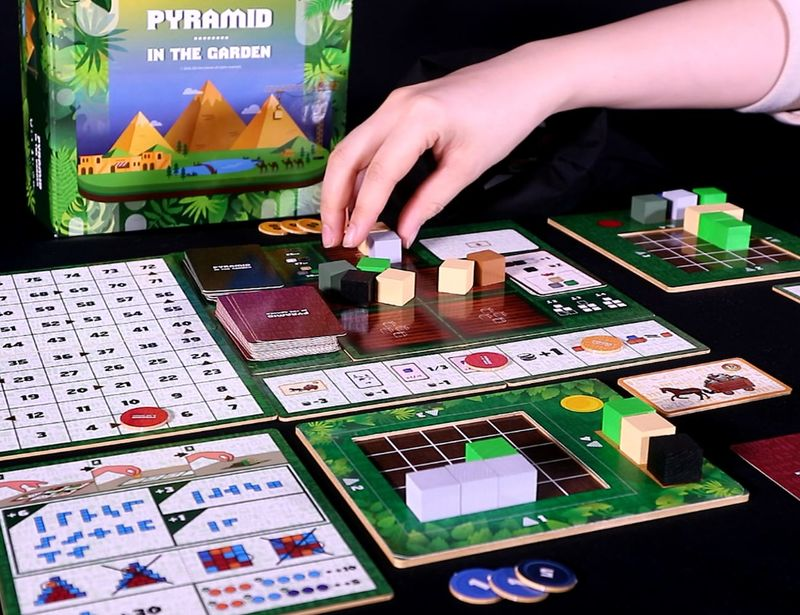 Egyptian Stonemason Board Games