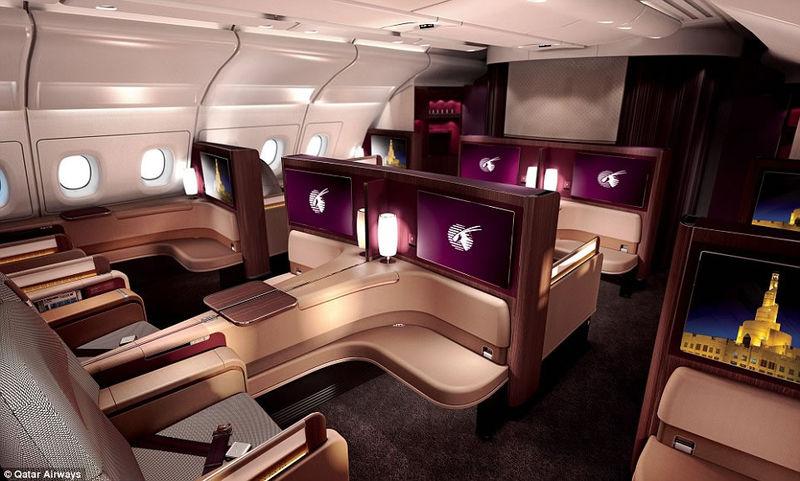 Luxury Airplane Suites