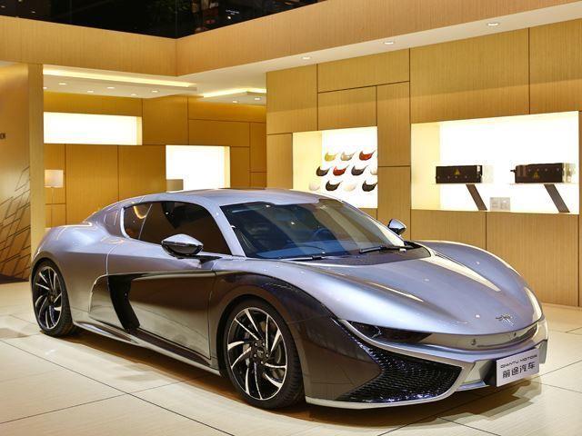 Dashing Chinese Electric Cars