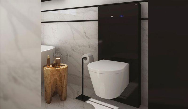 Gesture-Sensing Wall-Mounted Toilets