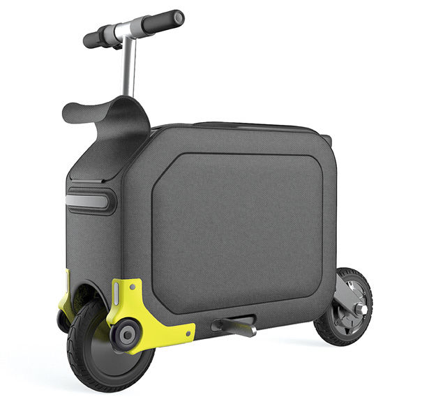 Gear-Storing Suitcase Scooters