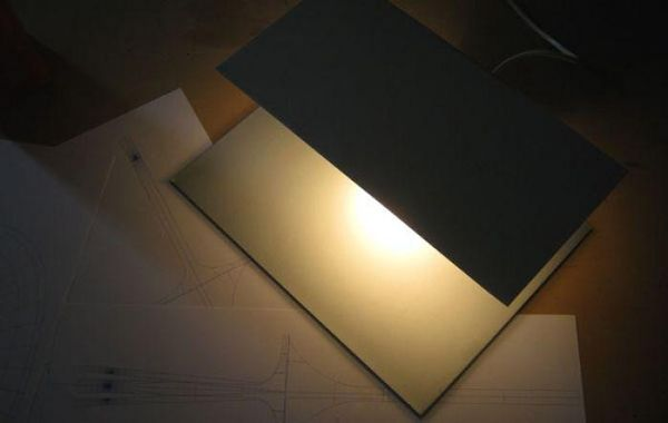Planar Table Illuminators