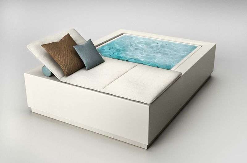 Multifunctional Daybed Hot Tubs