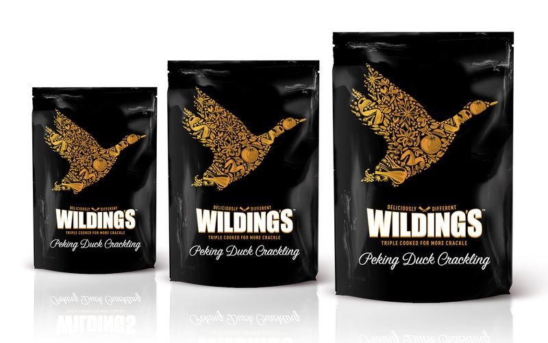 Upscale Fowl Snack Branding