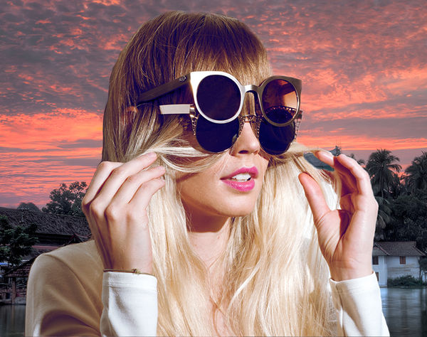 Bold Celebrity Sunwear Campaigns