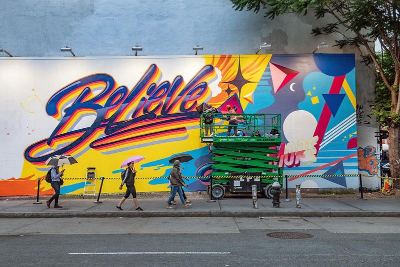 Diversity-Celebrating Murals