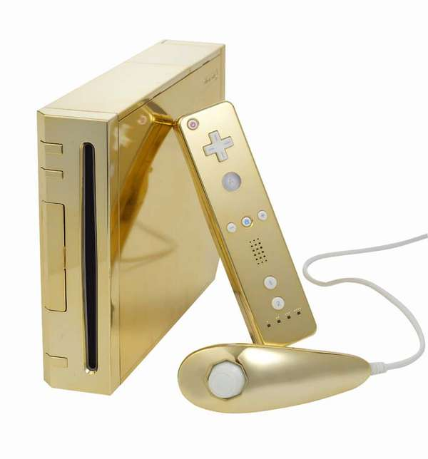 Golden Game Consoles
