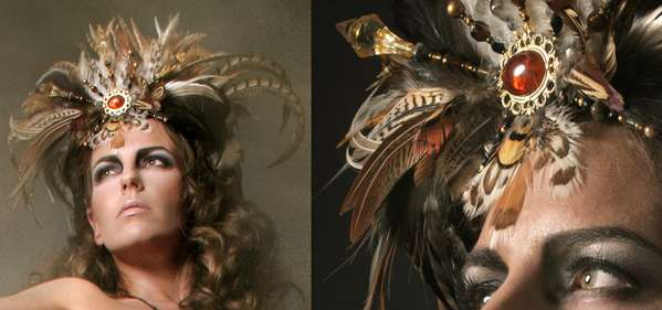 Regal Tribal Headdresses