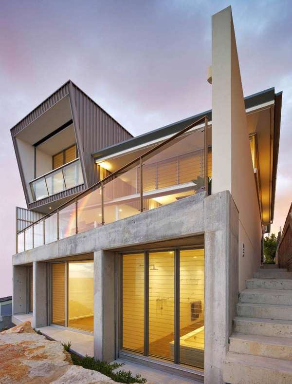 Asymmetrical Aussie Homes