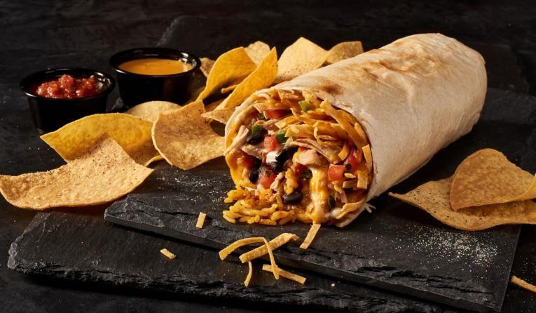 Crunchy Queso Burritos