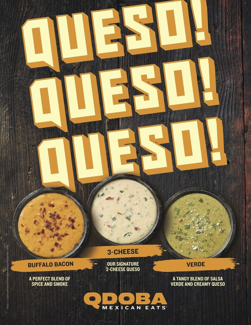 Flavored Queso Dips
