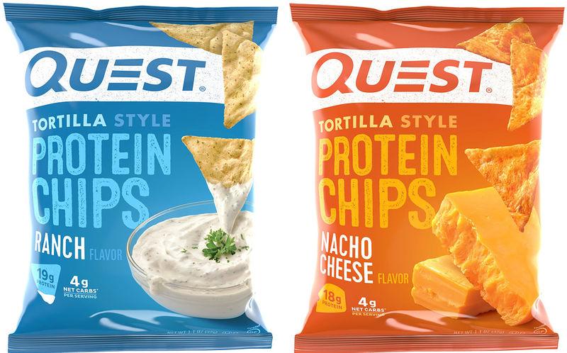 Protein-Rich Tortilla Chips