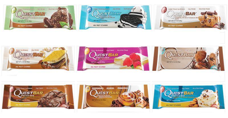 Dessert Protein Bars
