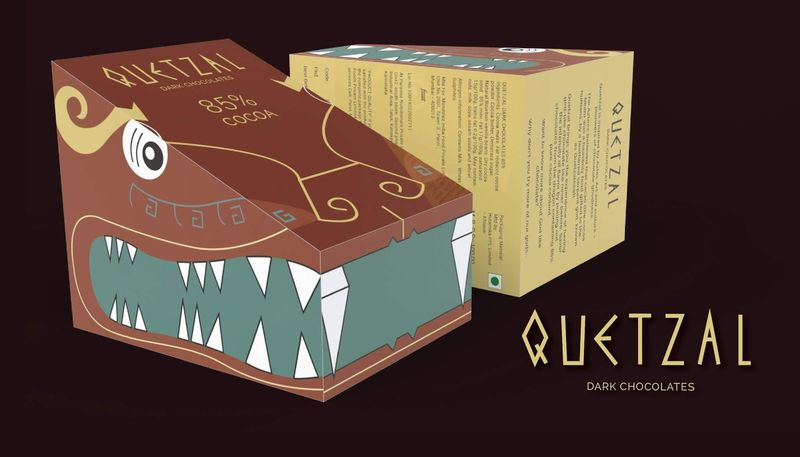 Dragon-Like Chocolate Packaging