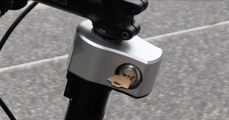 Steering-Disabling Bike Locks