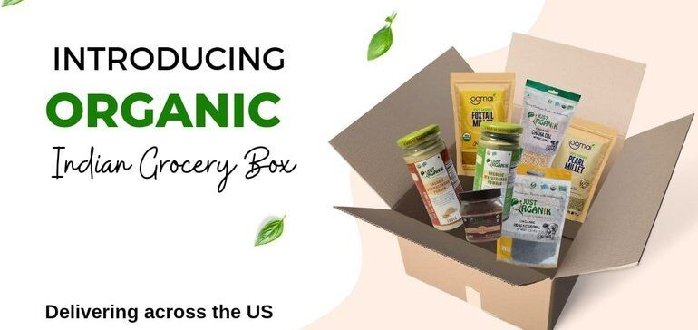 Organic Indian Grocery Boxes
