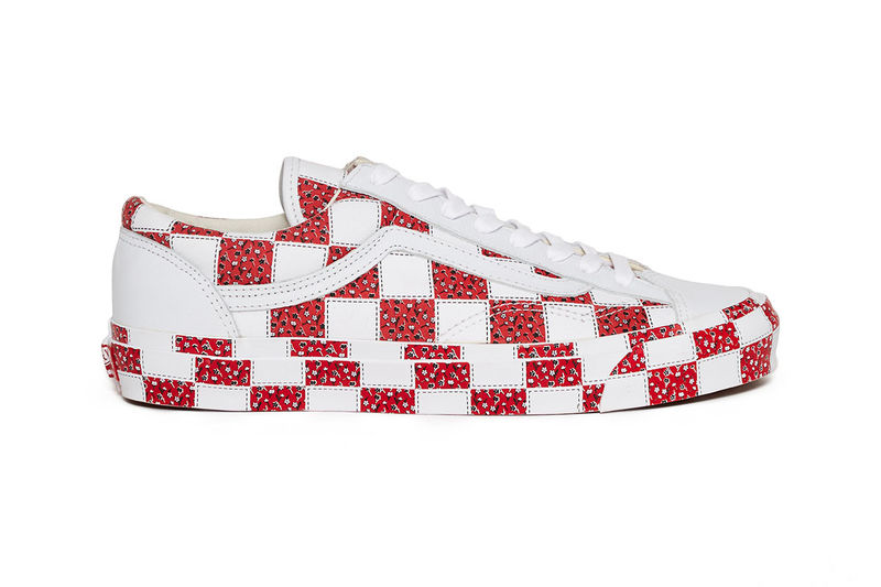 Quilt-Inspired All-Over Print Shoes