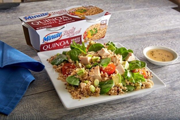 Quick-Cooking Quinoa Cups