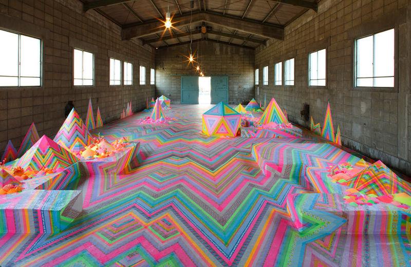 Psychedelic Art Displays