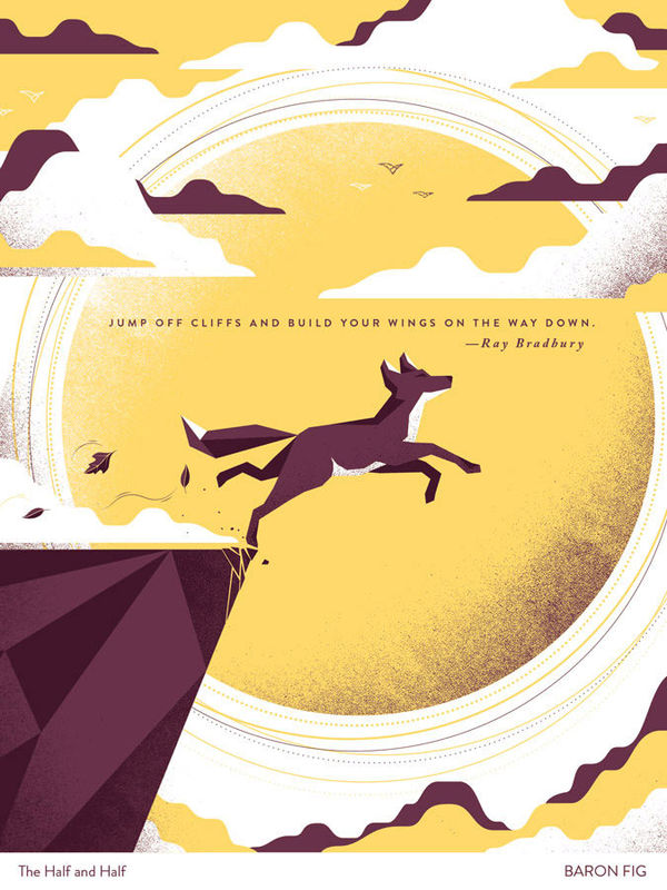 Inspirational Illustrated Posters