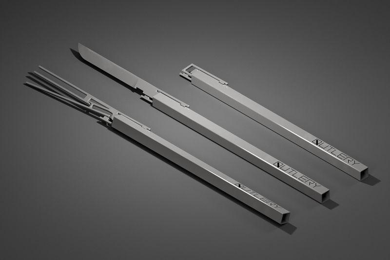 Ultra-Thin Travel Cutlery