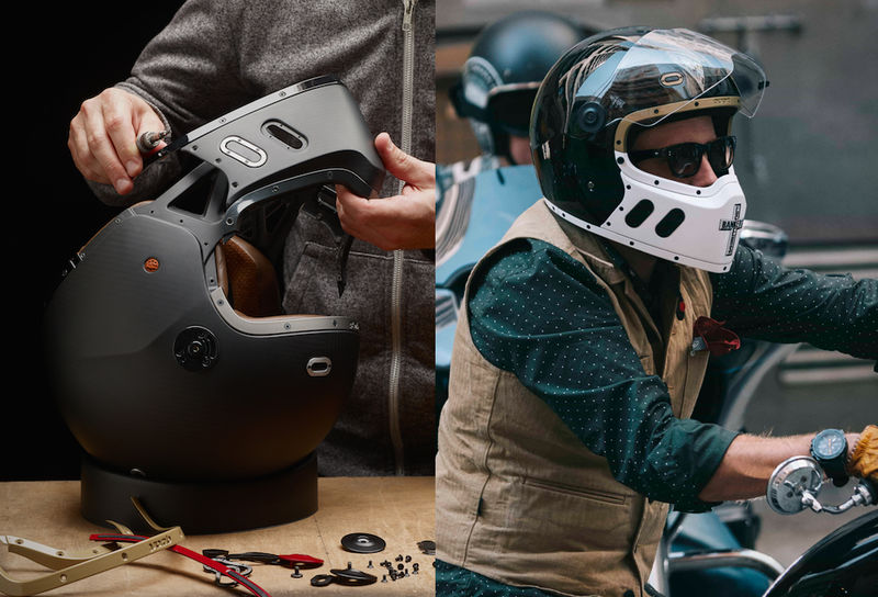 Modular Personalization Motorcycle Helmets