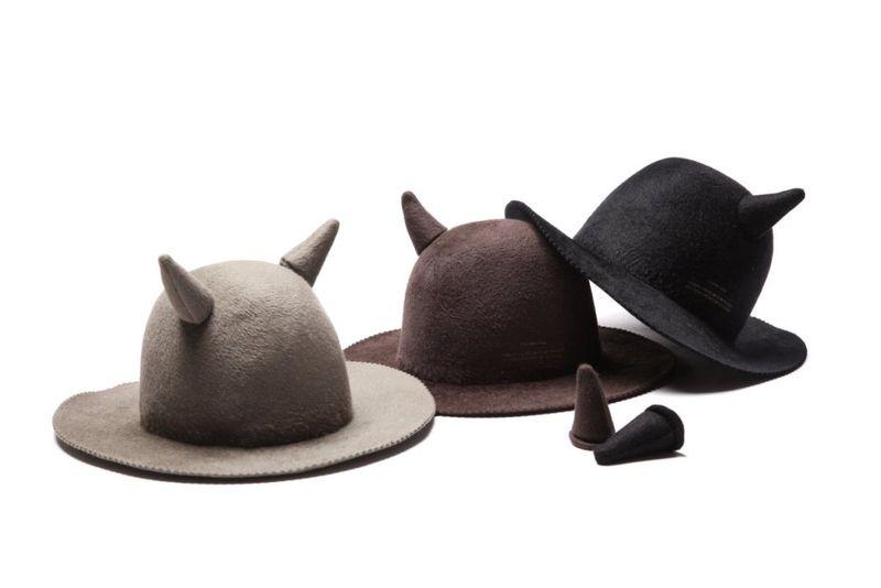 6446df33150 Horned Rabbit Fur Hats   rabbit fur hat