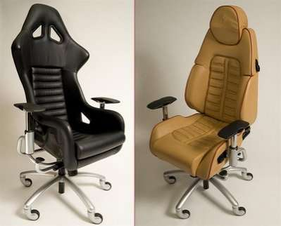 Beautiful Supercar Office Chairs