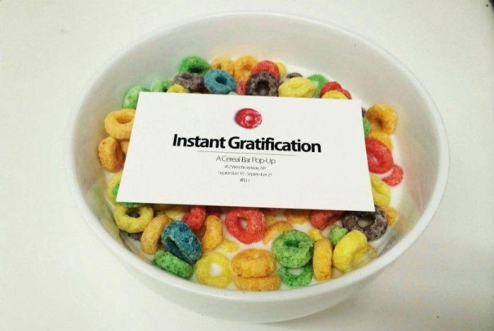Cereal Pop-Up Exhibits