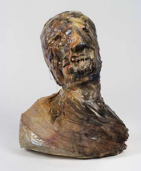 Decapitated Molting Sculptures