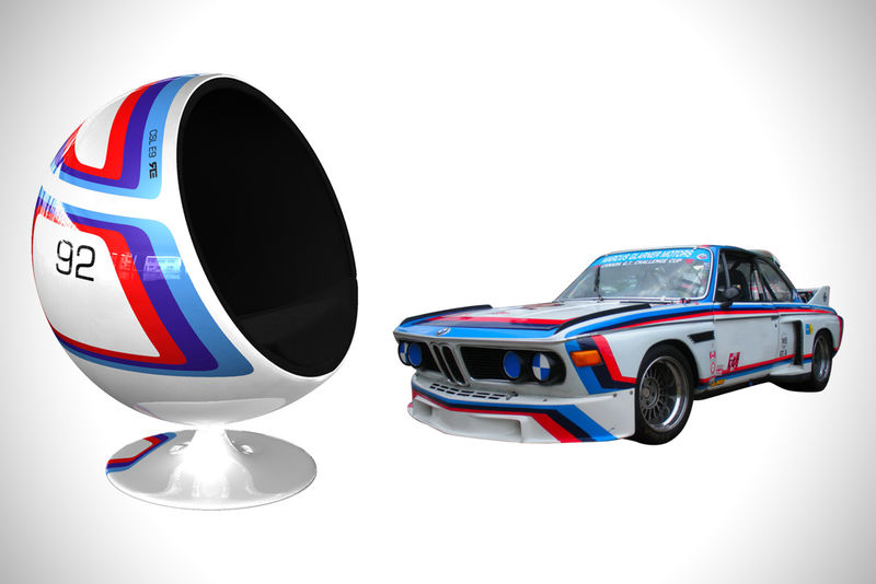 Automobile-Inspired Ball Chairs