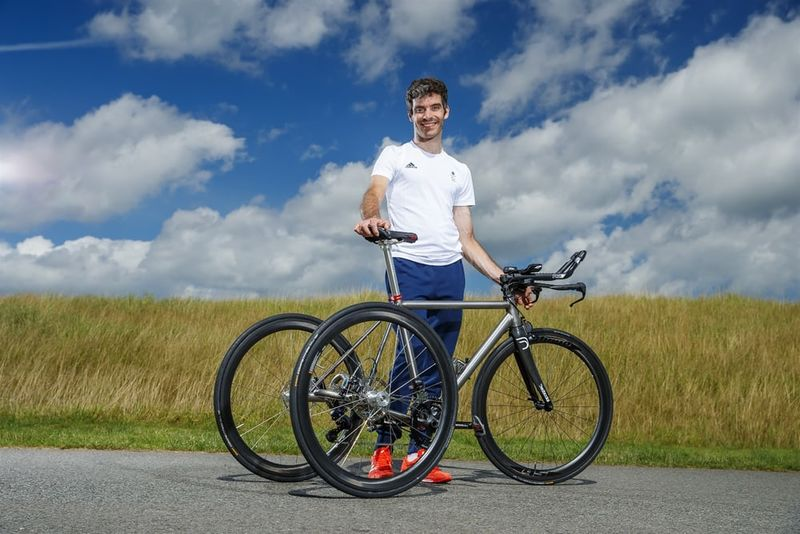 Aerodynamic Paralympic Trikes