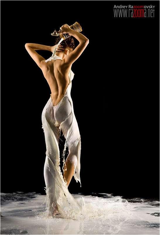 Milk Dresses