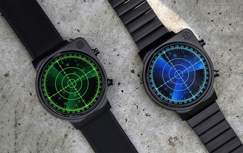 Circular Radar Timepieces