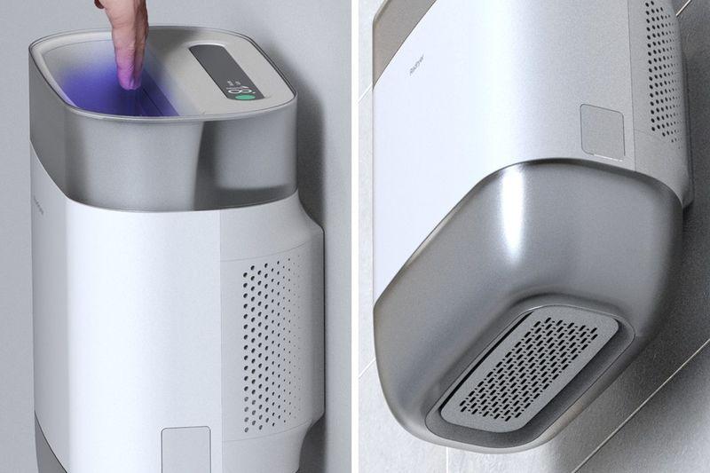 Quad-Function Hand Dryers