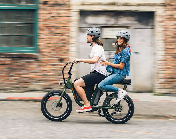 Passenger-Friendly Electric Bikes